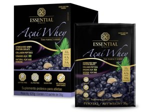 Açaí Whey -  sachê (35g cada) - Essential Nutrition