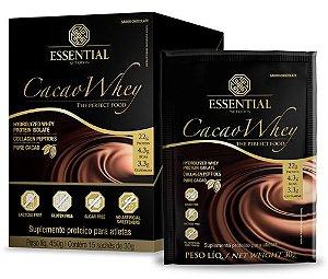 CACAO WHEY SACHÊ (30g cada) - Essential