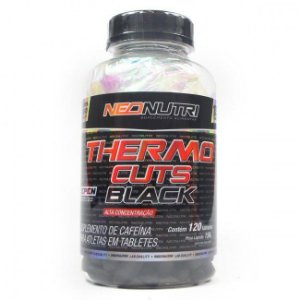 Thermo Cuts Black (120 caps) - NeoNutri