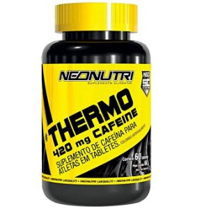 Thermo 420mg Cafeine (60 tabs) - NeoNutri