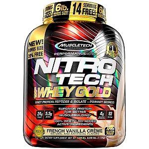 Nitro Tech 100% Whey Gold (2,72kg) - Muscle Tech