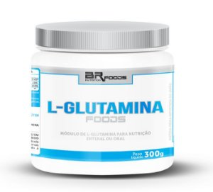 L-Glutamina Foods (300g) - BRN Foods
