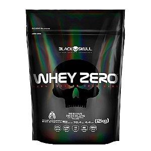 Refil Whey Zero (2 kg) - Black Skull