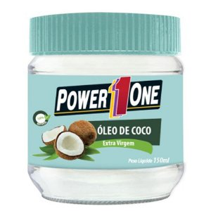 ÓLEO DE COCO EXTRA VIRGEM - 150ML - POWER ONE