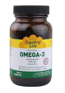 ÔMEGA 3 COUNTRY LIFE 1000MG (100 Softgels)