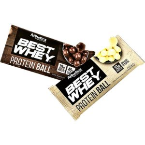Best Whey Protein Ball (Unid - 50g) - Atlhetica Nutrition