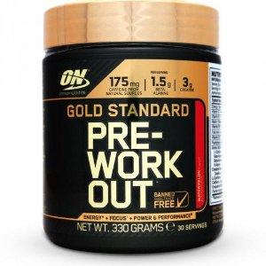 Gold Standart Pre Workout (330g) - Optimum Nutrition