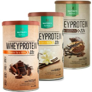 Whey Protein - 450g - Nutrify