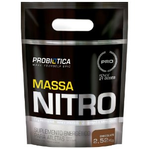 MASSA NITRO (2.5KG) PROBIÓTICA