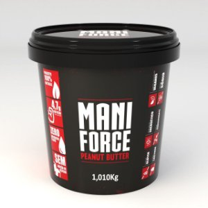 PASTA DE AMENDOIM INTEGRAL - MANI FORCE (1KG)