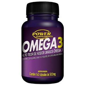ÔMEGA 3 - 140 CÁPSULAS - POWER SUPPLEMENTS