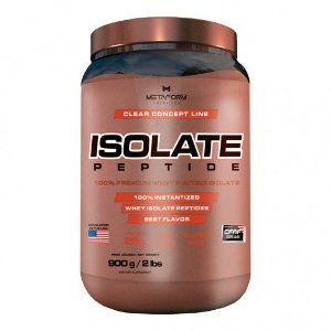 Isolate Peptide (900g) - Metaform Nutrition