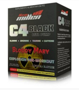 C4 BLACK BETA PUMP - 220g - NEW MILLEN