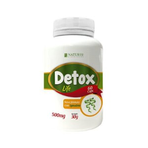 DETOX NATURAL GREEN 500MG 60 CÁPSULAS - Naturei