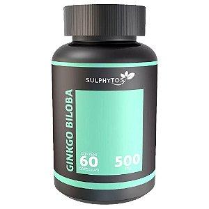 Ginkgo Biloba 500mg 60 Cápsulas  - Sulphytos