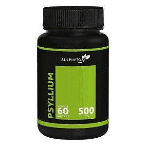 Psyllium 500mg 60 Cápsulas - Sulphytos