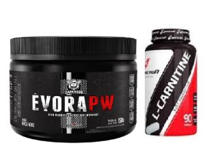 ÉVORA PW DARKNESS (150G) + L-CARNITINE (90 CAPS) BODYACTION