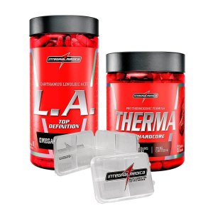 COMBO THERMA PRO + LA TOP DEFINITION + PORTA CÁPSULAS - INTEGRALMEDICA