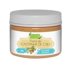 PASTA DE CASTANHA DE CAJU AO LEITE DE COCO (300G) - EAT CLEAN
