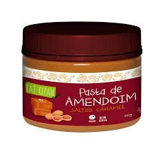 PASTA DE AMENDOIM SALTED CARAMEL (300G) - EAT CLEAN