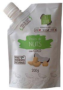 SAQUINHO PASTA DE NUTS COM COCO (200G) EAT CLEAN