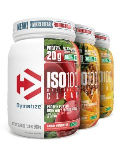 ISO100 Hydrolyzed Clear - Dymatize