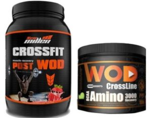 COMMBO CROSSFIT POST WOD  900g - NEW MILLEN + CROSSLINE AMINO 200g - PRO CORPS