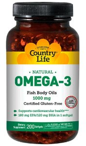 Omega-3 (200 softgels) - Country Life