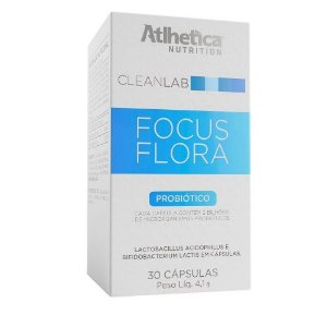 Focus Flora (30 Cápsulas) - Atlhetica Nutrition