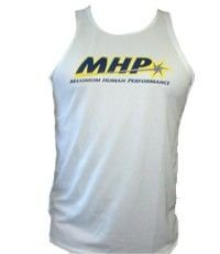 Camiseta Regata Masculina Fitness (BRANCA) Dry Fit - MHP
