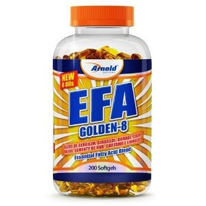 EFA Golden 8 - 200 Softgel - arnold