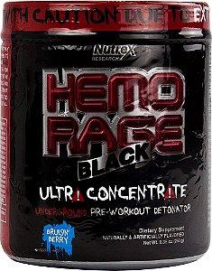 Hemo Rage Black Ultra Concentrado (50 Doses) - nutrex