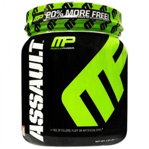 Assault 522g - Muscle Pharm (Nova Fórmula)