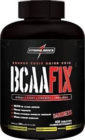 BCAA Fix Darkness (400 tabs) - IntegralMédica