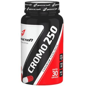 Cromo 250 (Picolinato de Cromo) - 30 Cápsulas - Body Action