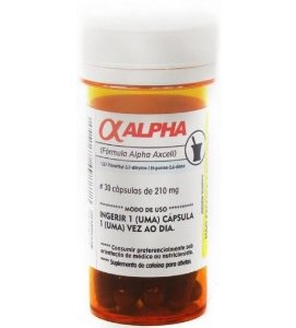 ALPHA AXCELL FORMULA (30 CÁPSULAS) - POWER SUPPLEMENTS