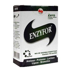 Enzyfor (Mix de Enzimas Digestivas) - 10 sachês - Vitafor