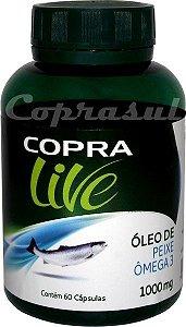 Oleo de Peixe (Omega 3) - 60 Capsulas - 1000mg - COPRA