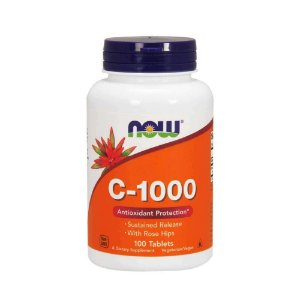 VITAMINA C-1000 (100CAPS) - NOW FOODS