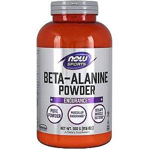 Beta-Alanina em Pó 500mg - NOW SPORTS