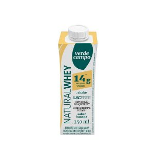 Iogurte Natural  Whey  -  250ml - Verde Campo