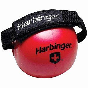 Bola Fitness Peso C/ Faixa ( PAR ) 1,8kg-vermelha-harbinger