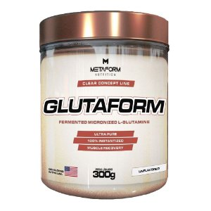 Glutamina Glutaform (300g) - Metaform Nutrition