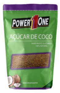 AÇUCAR DE COCO (100G) - POWER ONE