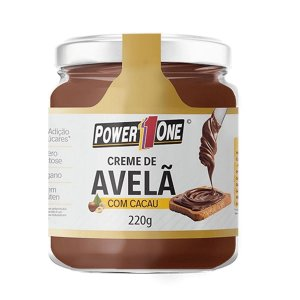 CREME DE AVELÃ ( 220G ) - Power One