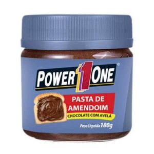 Pasta de Amendoim Chocolate com Avelã (180g) - Power One