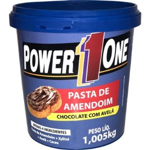 Pasta de Amendoim  Chocolate c/ Avela ( 1KG ) - Power One
