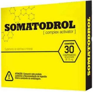 Somatodrol 30 comprimidos Pré - Hormonal ( VAL. 31/01/20)