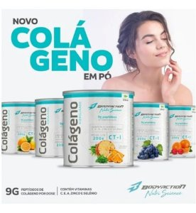 Colágeno Hidrolisado  200g - BodyAction