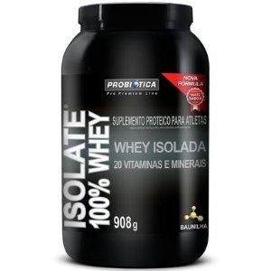 Isolate 100% Whey (2lbs - 908g) - Probíotica Pró Premium Line